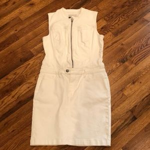 Calvin Klein Jeans White stretch Dress
